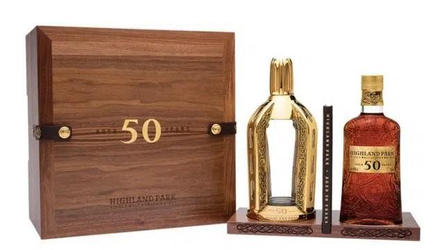 Highland Park 50 años por un precio de medio millón de pesos