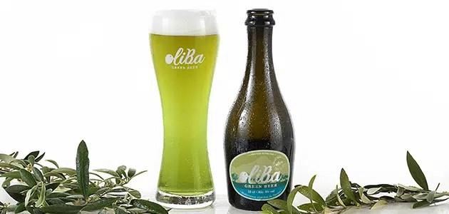 OLIBA Green Beer: 1.ª cerveza verde de aceituna