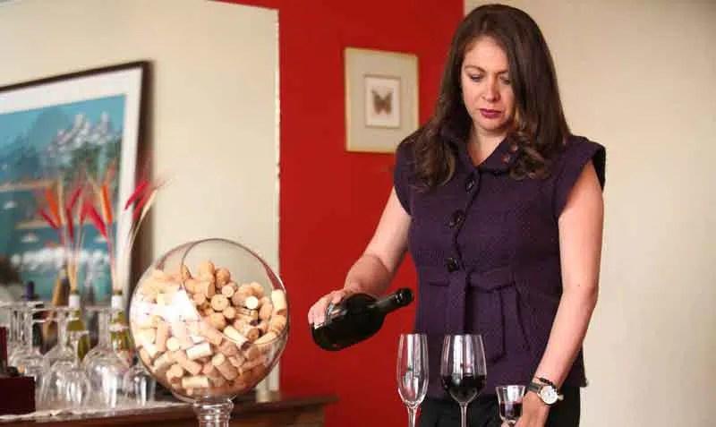 María Cristina Jarrín y su vocación por el vino