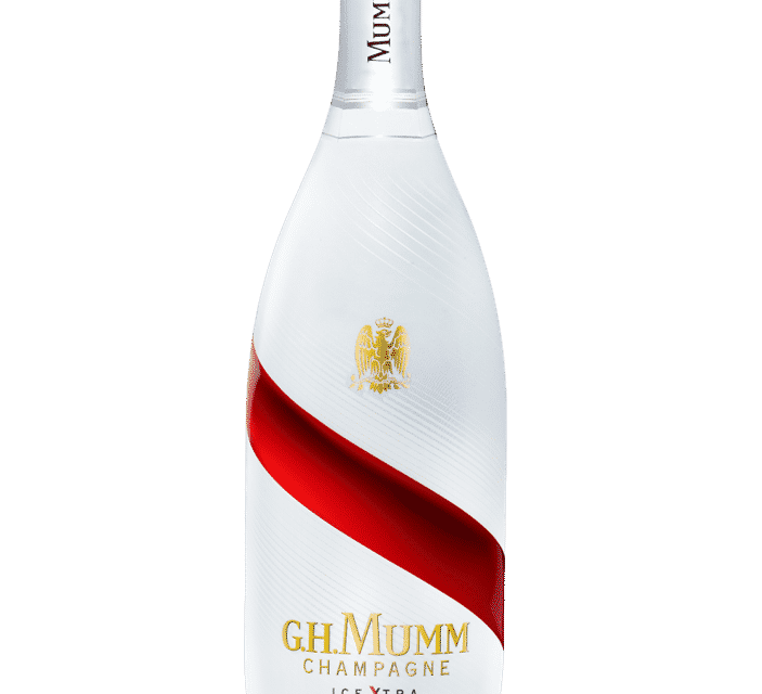 G.H. Mumm Ice Xtra, el champán con hielo lleno de contrastes y aromas exóticos