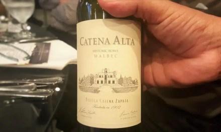 Catena Alta Malbec: vino argentino de gran elegancia