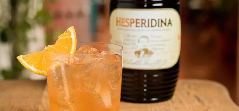 Hesperidina, licor argentino a base de naranja creado en 1864