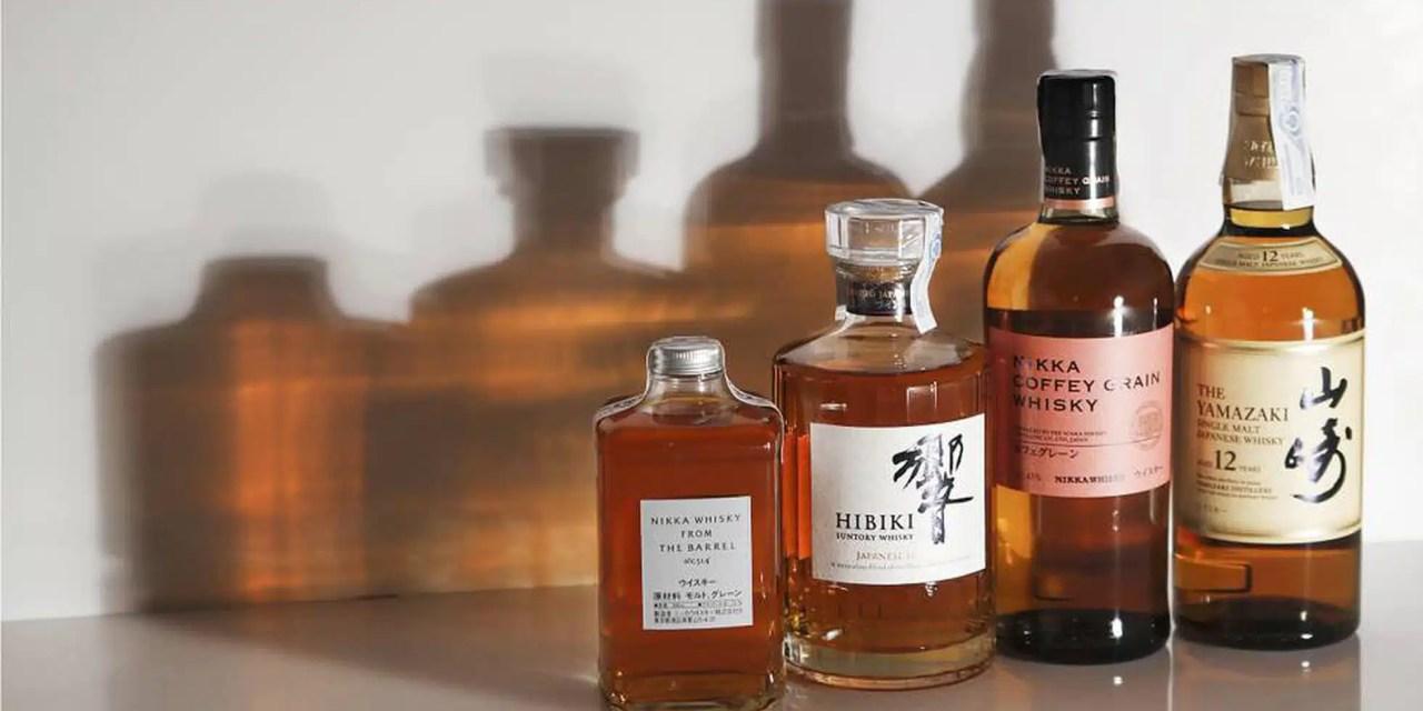 Destilados nipones y la maduración bajo el sol naciente