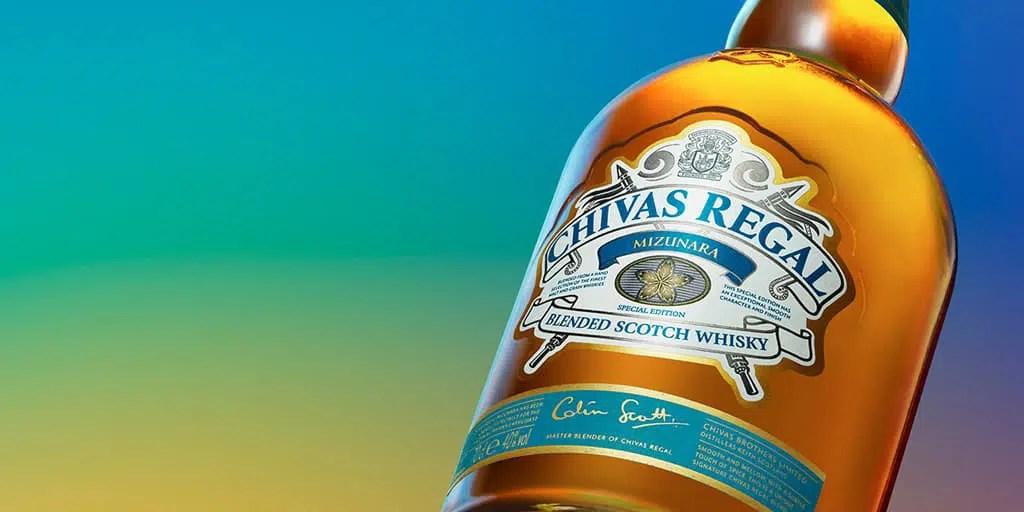 Whisky Chivas Regal Mizunara, un homenaje a la cultura japonesa