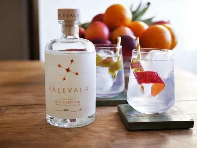 Kalevala gin: «Sofisticado y suave con notas de pino, frambuesa y rosa»