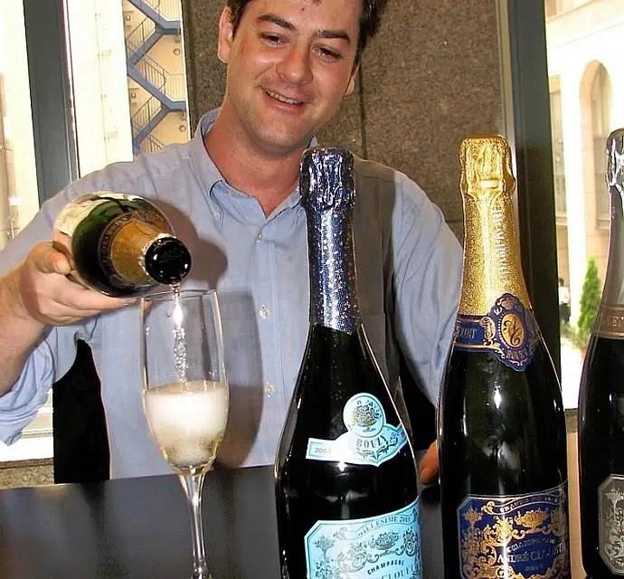 André Clouet y 3 de sus extraordinarios champanes