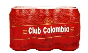 club colombia roja six pak lata 330ml