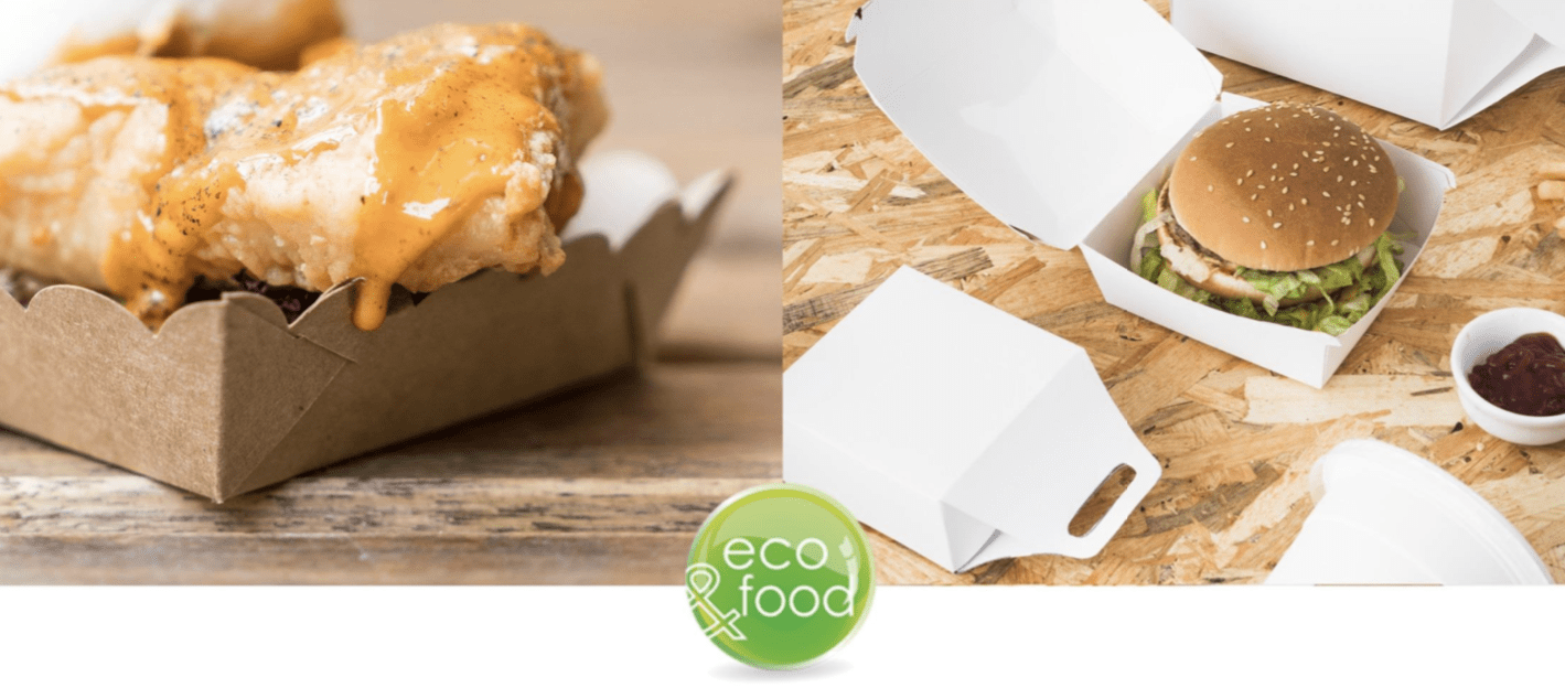 Eco-friendly food packaging for Food service