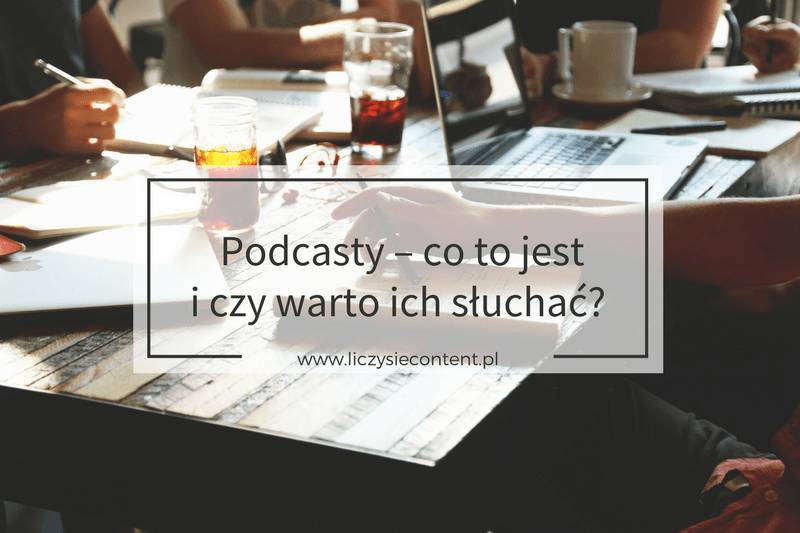 podcasty co to jest