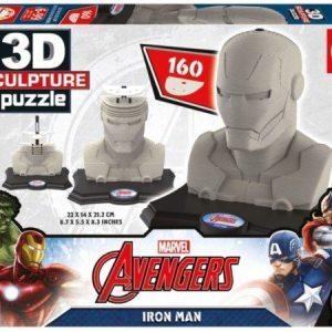 3D Sculpture Puzzle Iron Man