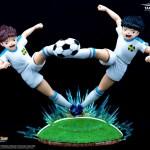 Captain Tsubasa Golden Twin Shot Resin Oliver Hutton Holly & Tom Becker 1