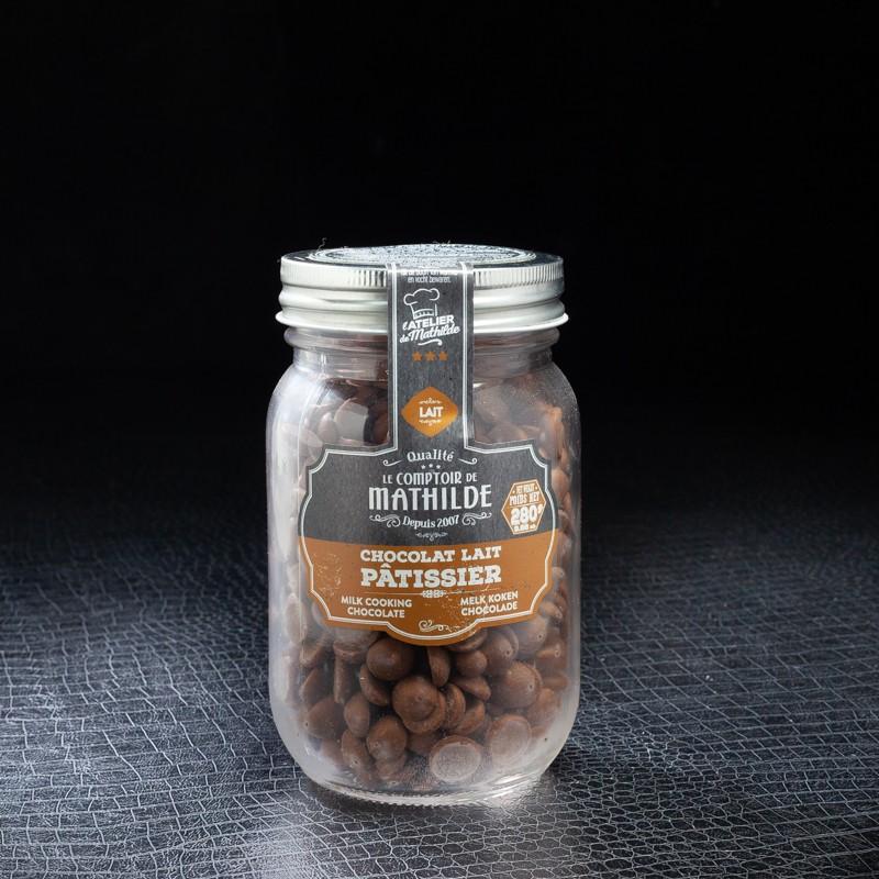 le comptoir de mathilde chocolat au lait patissier 280gr