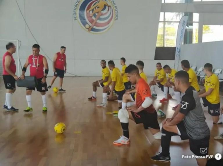 Vinotinto Futsal realizará segundo módulo de preparación