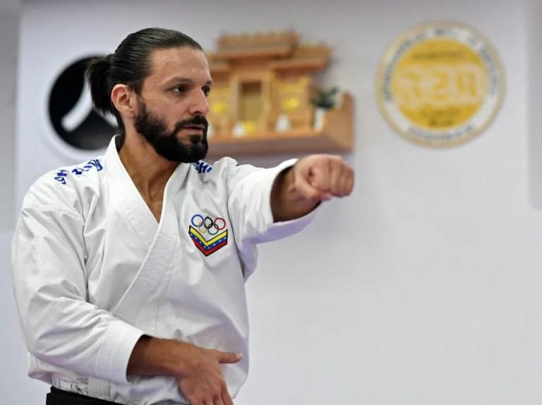 Antonio Díaz gets ready for Tokyo