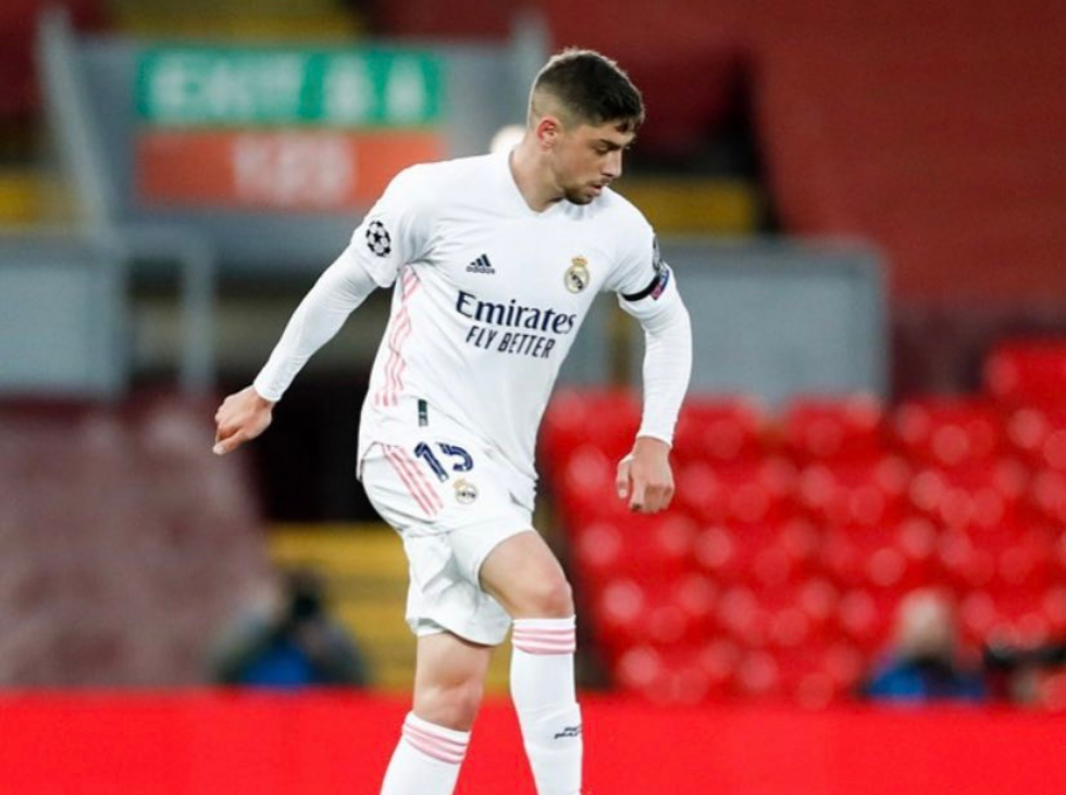 Federico Valverde tests positive for Covid-19
