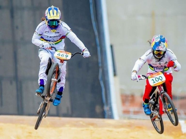 Aruba and Latvia won at the start of the BMX Cups in Venezuela