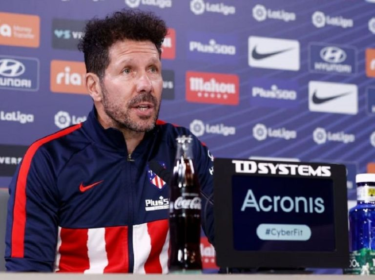 """Simeone: """"The rivals know us, we have to evolve"""""""