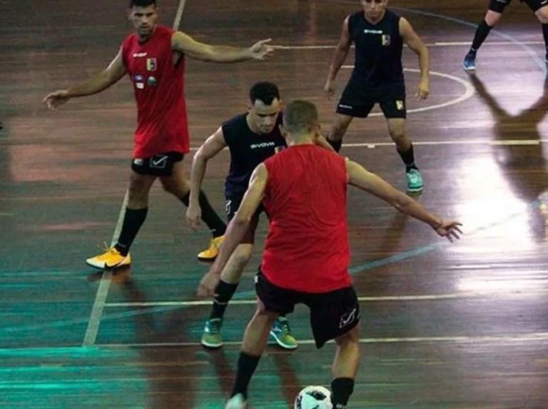 Vinotinto de Futsal cerró su segundo módulo de trabajo