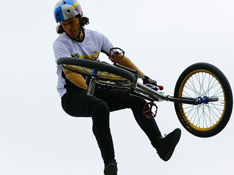 Daniel Dhers is number one in BMX Freestyle