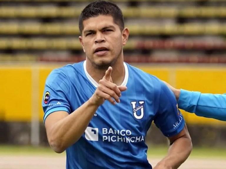 Edder Farías brilló en Ecuador con triplete ante Mushuc Runa