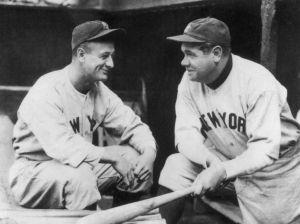 Triple Play   Babe Ruth and Lou Gehrig: the pair of terror in the Yankees