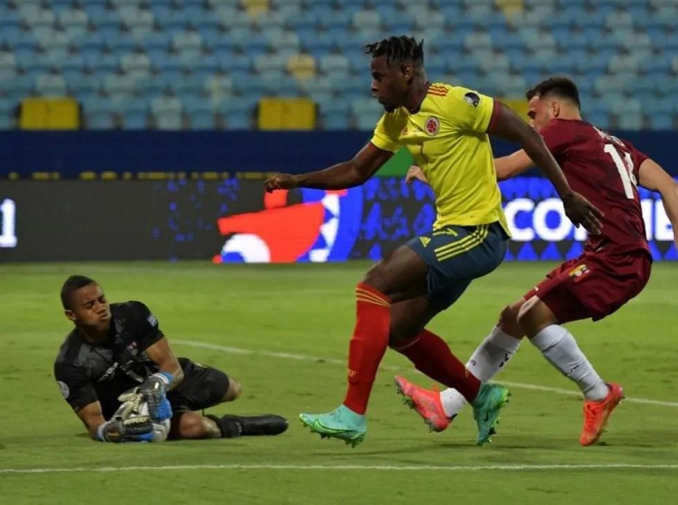 La Vinotinto empató sin goles ante Colombia