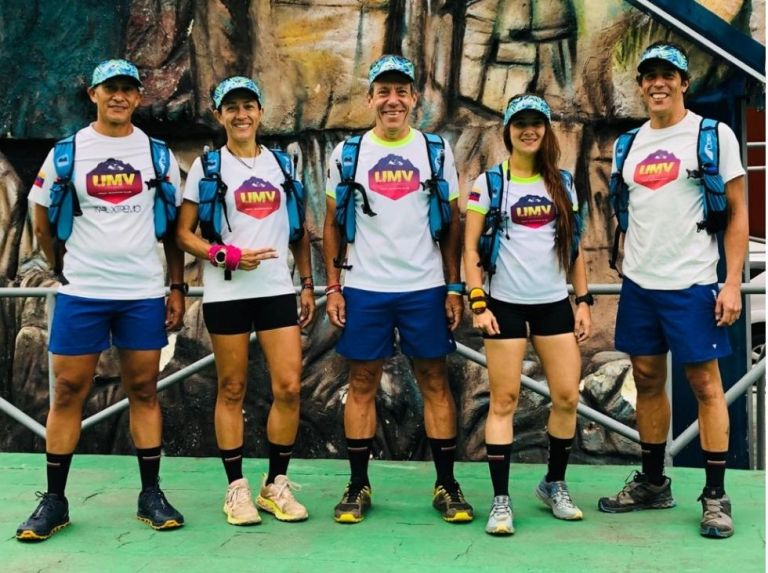 Everesting Trail Venezuela: The challenge of five athletes