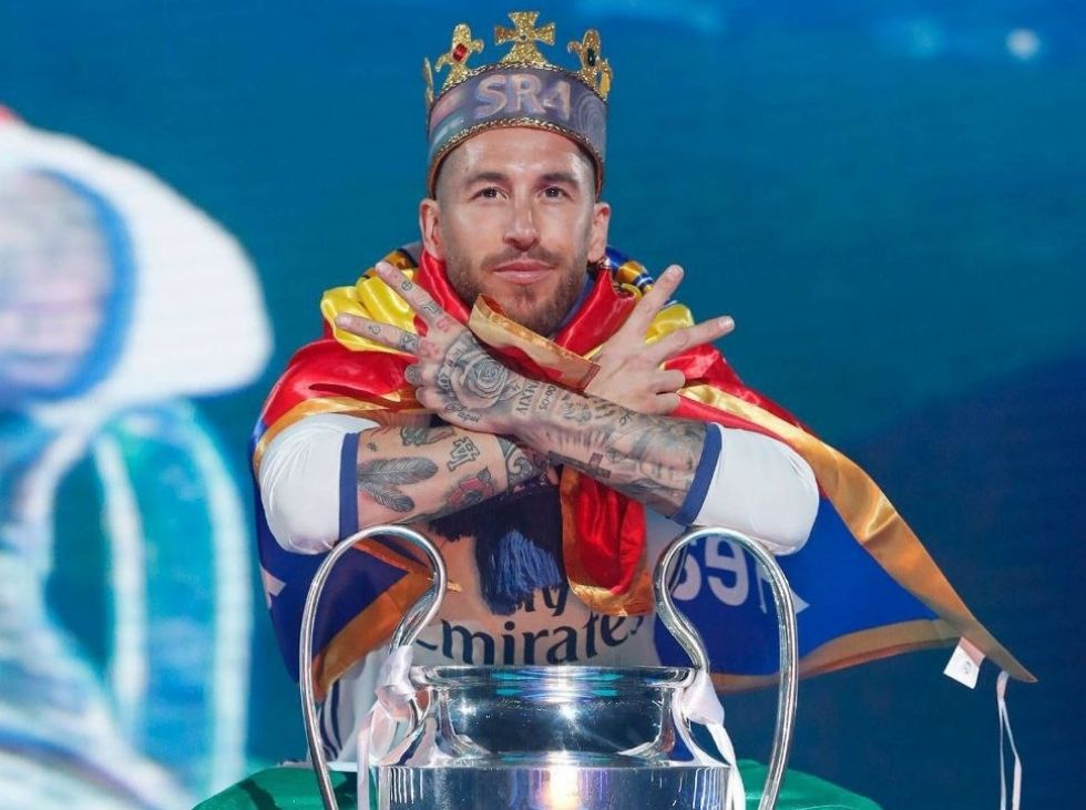 Real Madrid announces the departure of Ramos