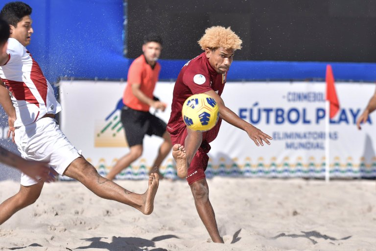 Vinotinto, The national beach soccer team  dreams of a ticket to the semifinals