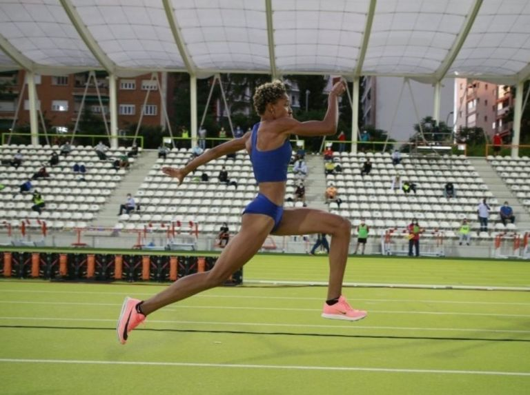 Yulimar shone in Madrid with a superb jump of 15.34