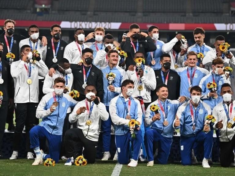 Argentina consiguió la primera medalla en Tokio con el rugby