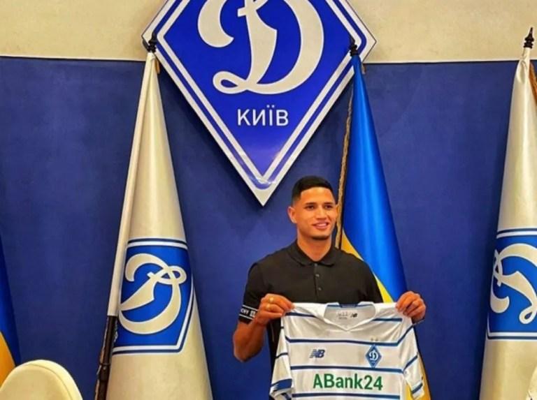 Eric Ramírez jugará con el campeón de Ucrania