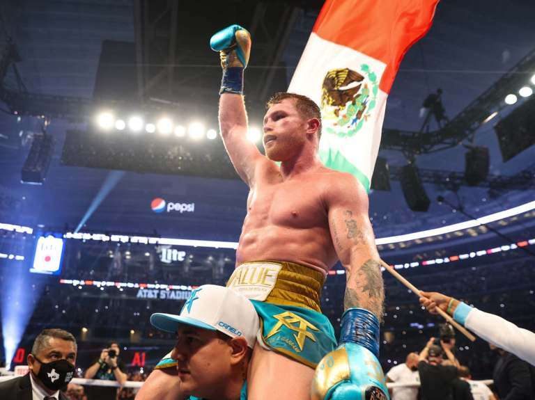 """""""Canelo"""" advances negotiations to fight with Caleb Plant"""