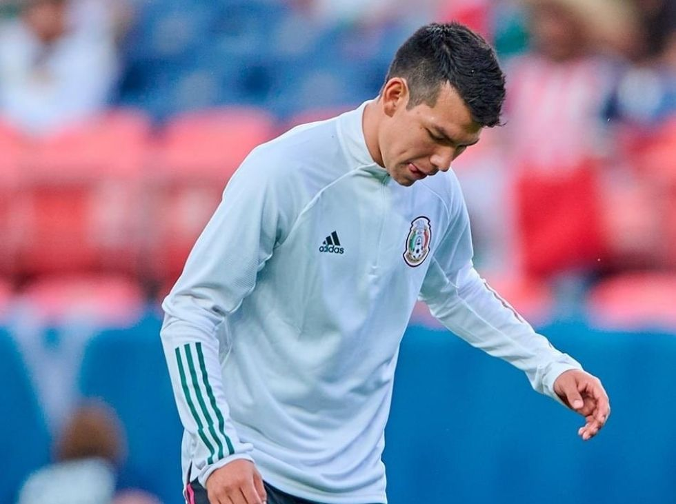 Hirving Lozano misses the rest of the Gold Cup
