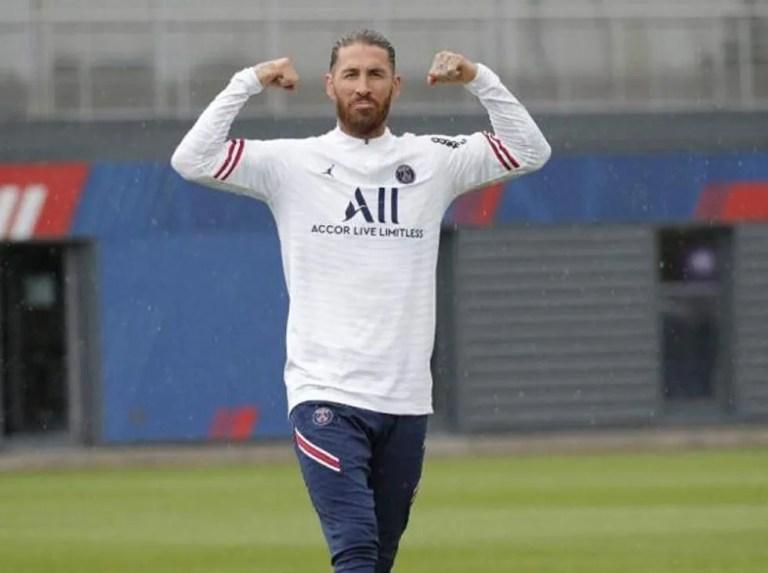 Sergio Ramos sufre una lesión en el sóleo