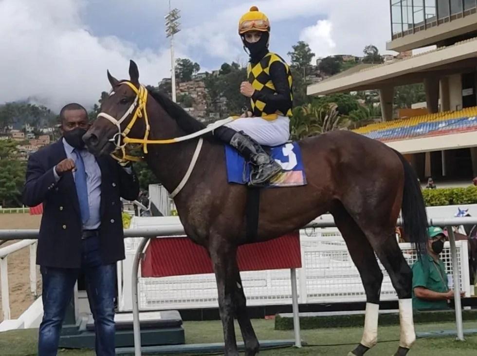 Jaime Lugo Jr. fue el jinete más destacado en Caracas
