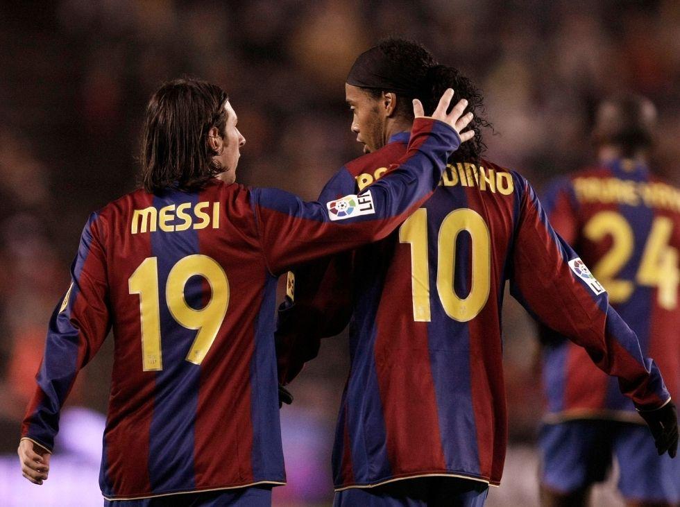 Ronaldinho ¡Que vengan muchos momentos de alegría, Leo!