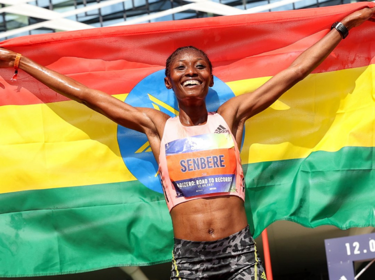 Agnes Jebet Tirop achieves new world record of 10 km en route