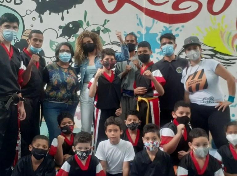 Anriquelis Barrios brought joy to Petare