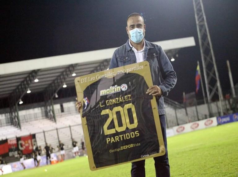 Leo González no para de sumar logros con el Deportivo Lara