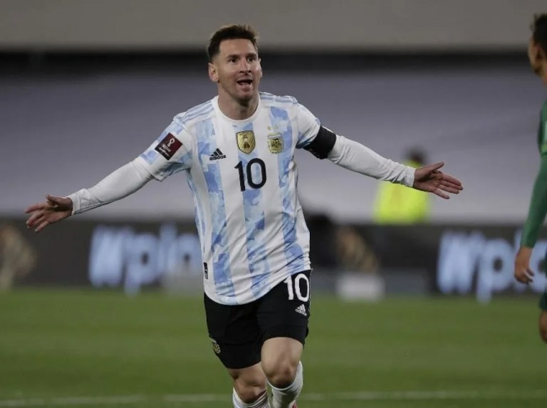 Pelé felicita a Messi por superar su récord en Sudamérica