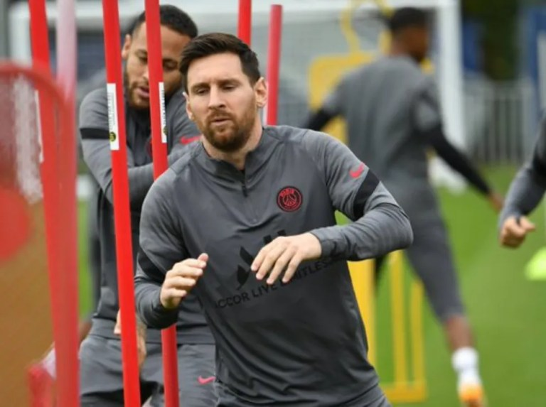 Messi and Verratti could arrive for the game against City
