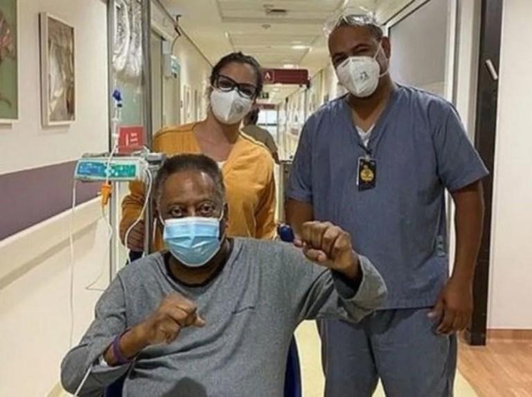 """Pelé continúa con su recuperación y afirma que """"cada día está mejor"""""""
