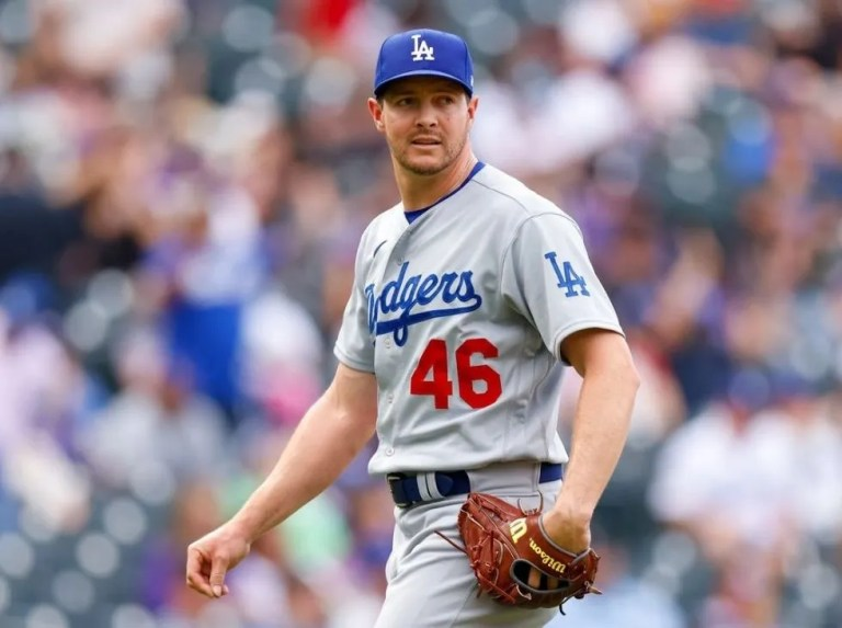 Change of plans! Dodgers announce Knebel for Game 5