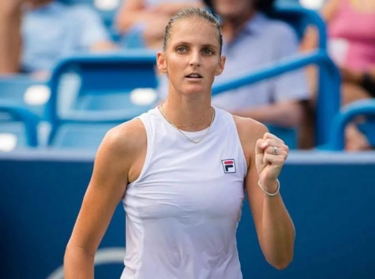 Pliskova secured a pass to the WTA Finals