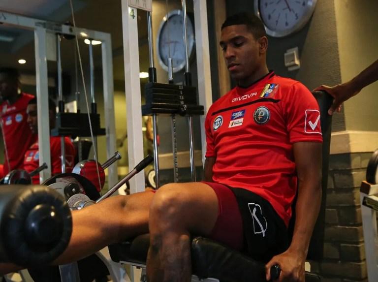 La Vinotinto lost first training session in Chile