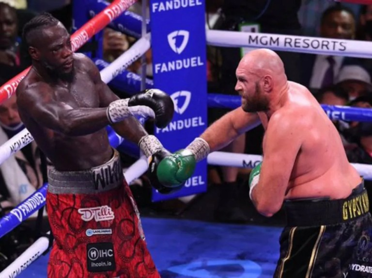 Fury goes from being a knockout hit to winning against Wilder
