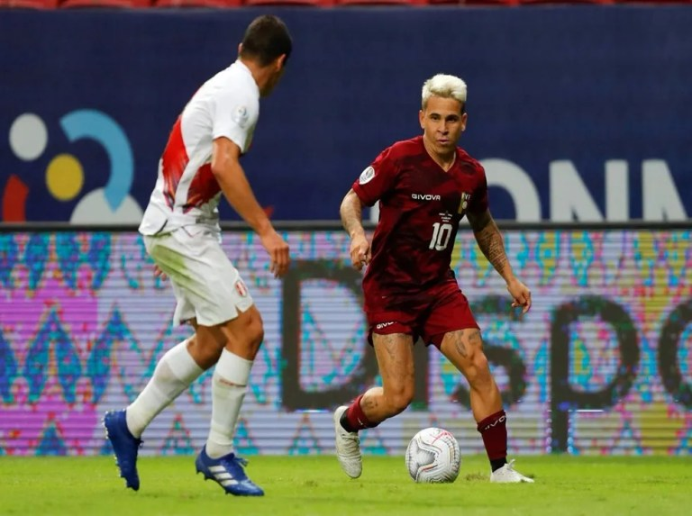 Soteldo, Chancellor and Moreno will be casualties of the Vinotinto against Chile