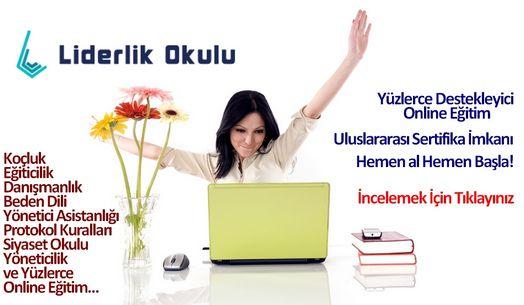 Online Uzaktan Eğitim  Yöneticilik Eğitimleri Online egitimler