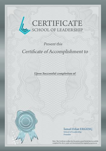 Yaşam Koçluğu Sertifika  Liderlik Okulu Diploma Programı  - Certificational E-learning Ya  am Ko  lu  u Sertifika